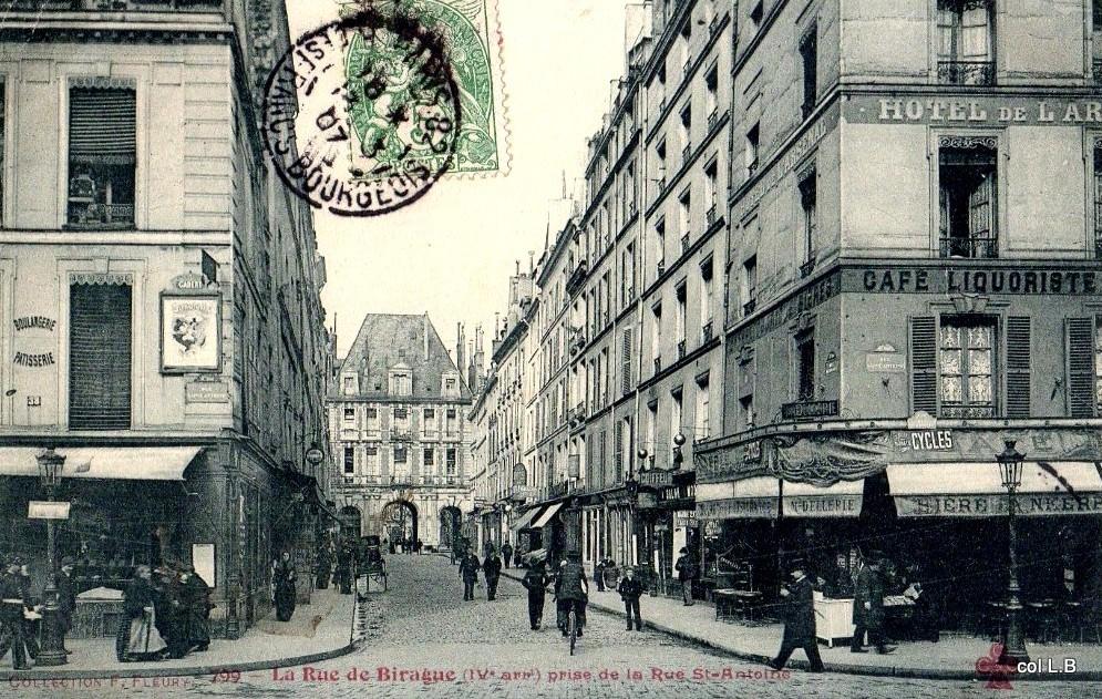Paris Rue de Birague