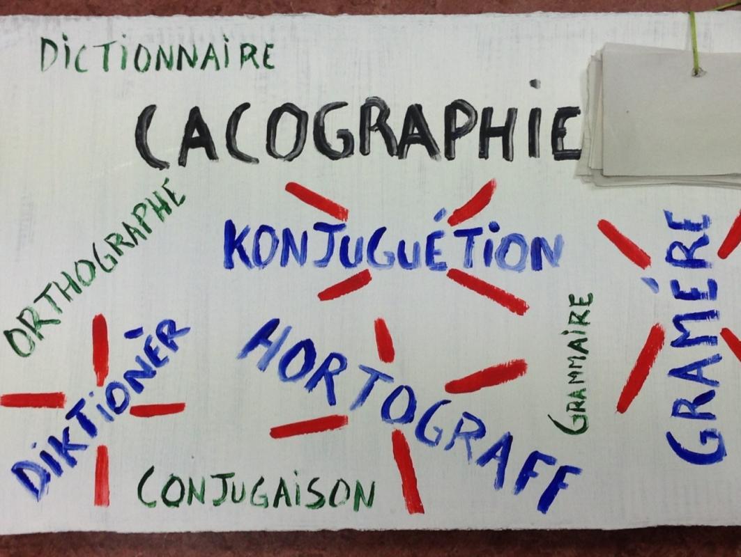 Illustration cacographie