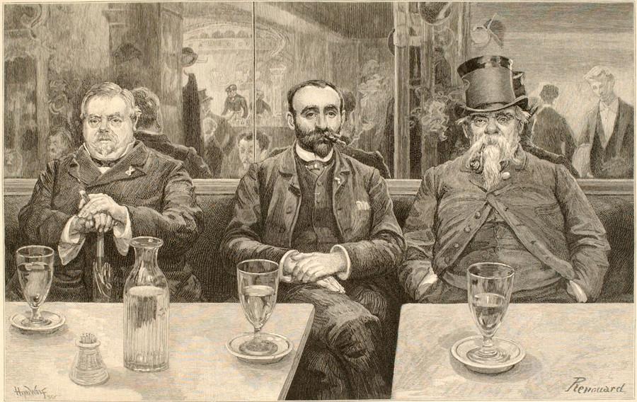 Charles- Paul Renouard - Harper's Magazine, 1889, vol LXXVIII, page 691
